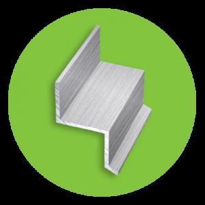 Алюминиевый профиль Z