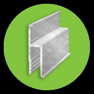 Алюминиевый Н профиль