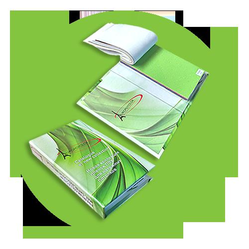 каталог зеленый маленький