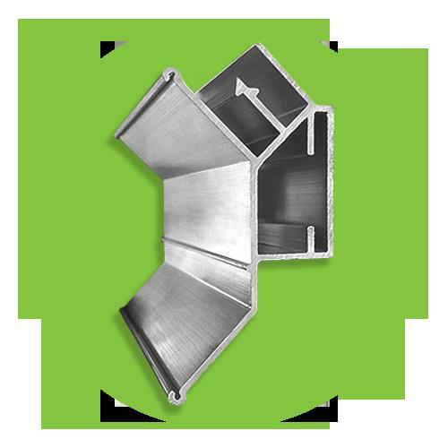 профиль для двухуровневых потолков под углом