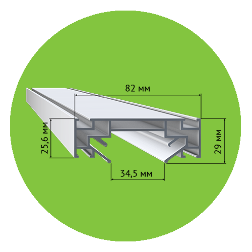 Профиль LumFer TR 30